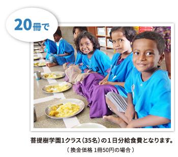 国際仏教興隆協会古本募金